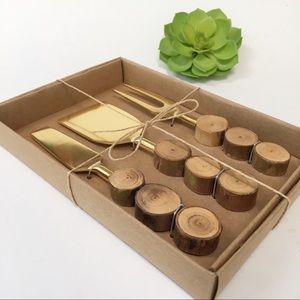 New Thirstystone Tree Ring Cheese Set, Set of 3